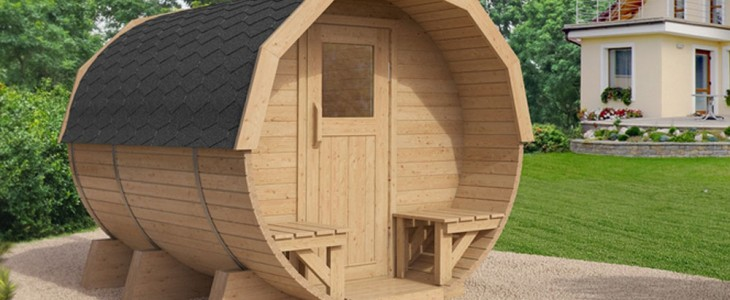 Die Outdoor Sauna