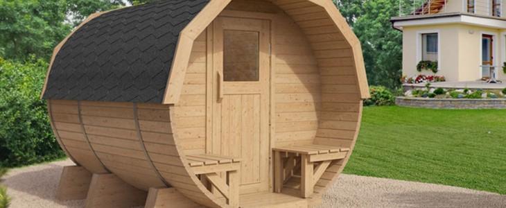 Die Outdoor Sauna