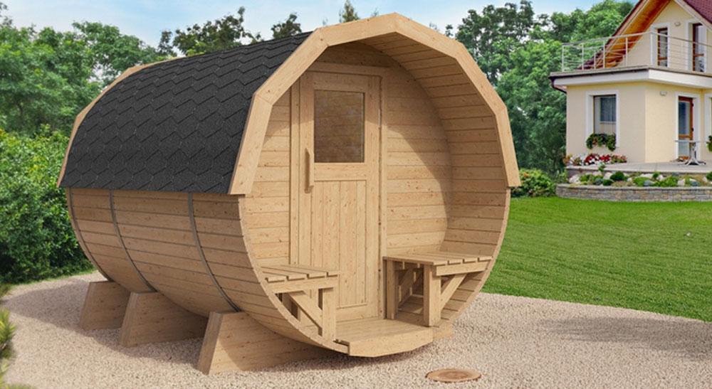 die outdoor sauna sauna ist gesund. Black Bedroom Furniture Sets. Home Design Ideas
