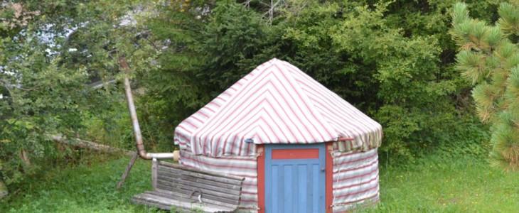 Die Schwitzhütte